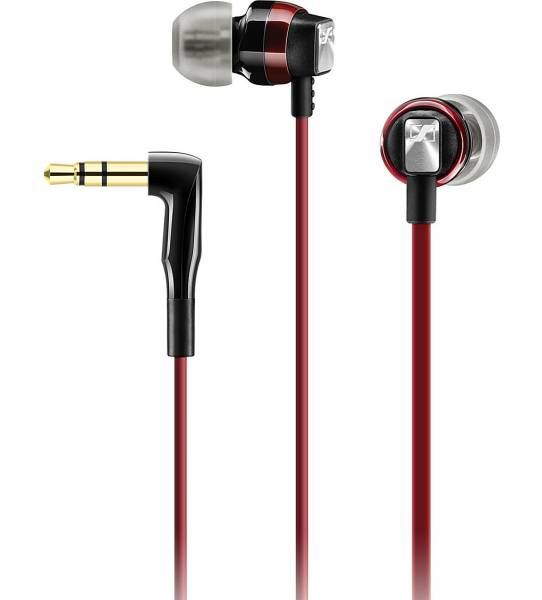 Sennheiser CX 3.0 in-ear headphones in Red