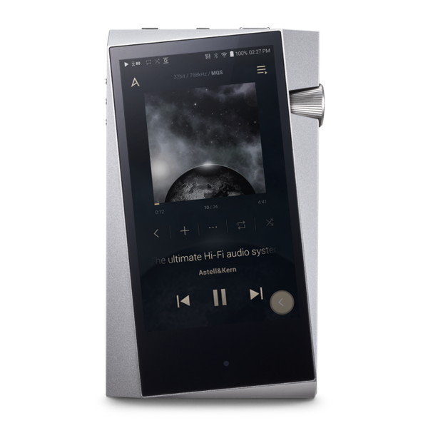 Astell&Kern A&norma SR25 Hi-Res Audio Player in Moon Silver