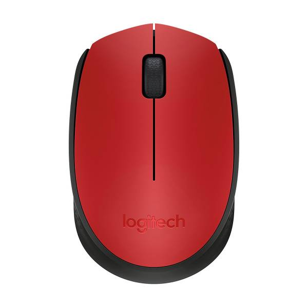 Logitech M171 Red Mouse Hero Image