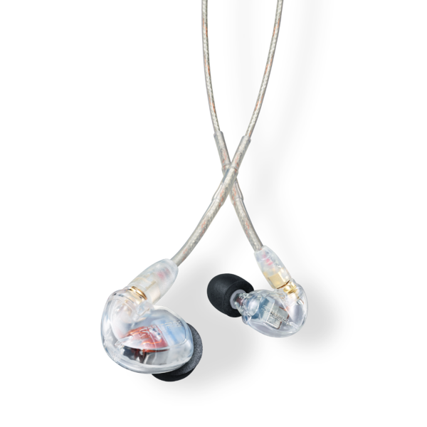 Shure SE425 Sound Isolating Earphones in Clear