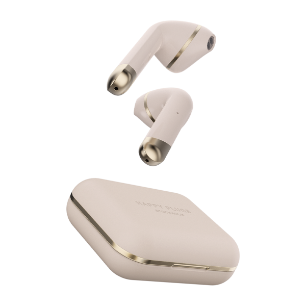 Happy Plugs Air 1 True Wireless Earphones in Gold