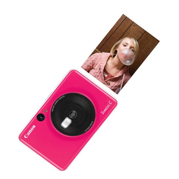 Canon Zoemini C Bubble Gum Pink Printer Hero Image
