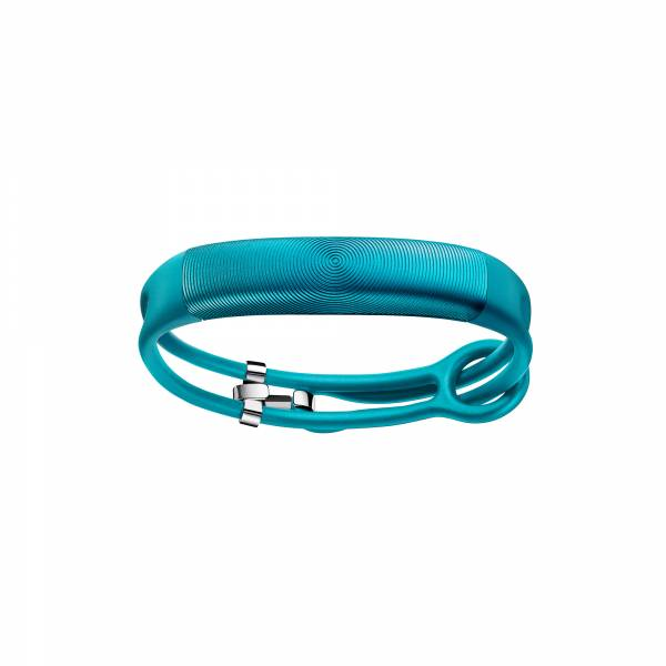 Jawbone, UP2, ROPE, Jade, blue, green, Fitness Band front view