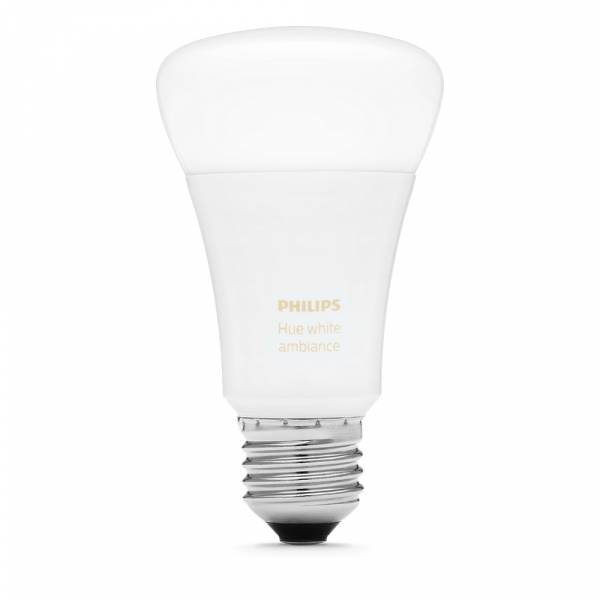 Philips Hue White Ambiance Smart LED E27 Bulb off view
