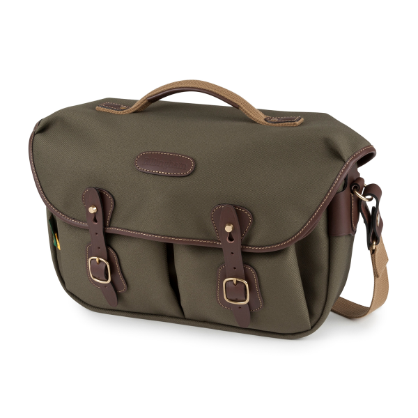 Billingham Hadley Pro 2020 Camera Bag in Sage FibreNyte / Chocolate Leather