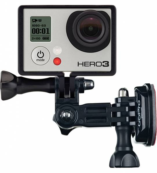 GoPro Side Mount with camera