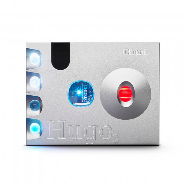 Chord Hugo 2 DAC/Headphone Amplifier in Silver