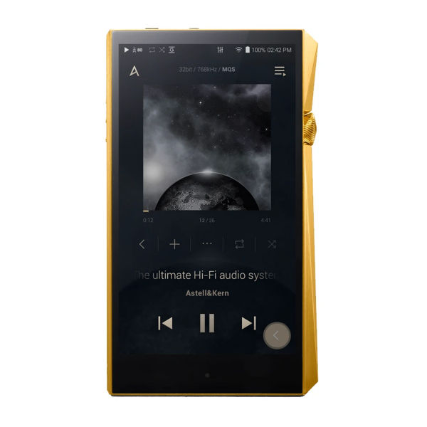 Astell&Kern A&ultima SP2000 Hi-Res Audio Player in Gold