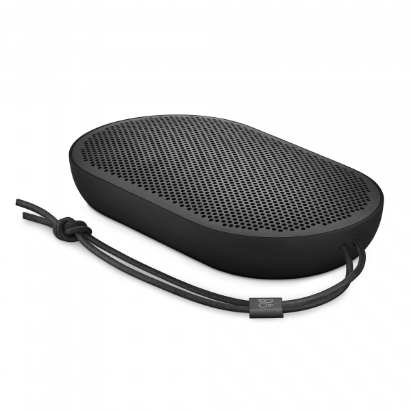 Bang & Olufsen Beoplay P2 Portable Bluetooth Speaker in Black