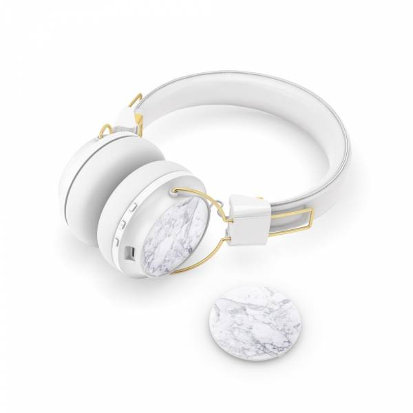 Sudio Regent Headphone Caps in White Marble