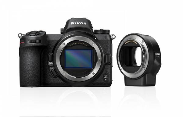 Nikon Z 6 Digital Camera Body with Mount Adapter Hero Image