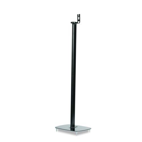 Flexson Single Floor Stand in Black for Sonos One and Sonos PLAY:1