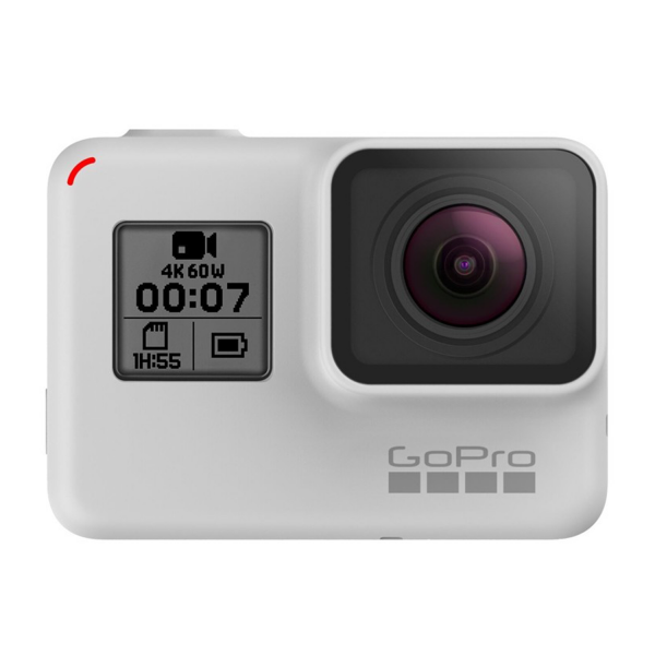 GoPro HERO7 Black Action Camera in Dusk White