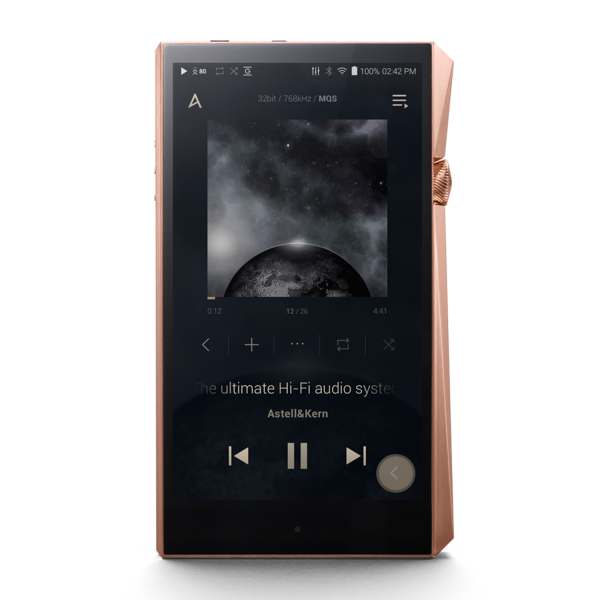 Astell&Kern A&ultima SP2000 Hi-Res Audio Player in Copper