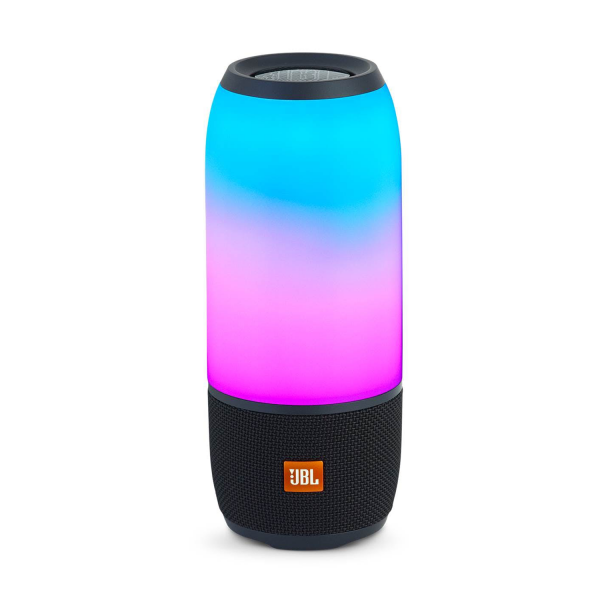 JBL Pulse 3 Portable Bluetooth Speaker in Black