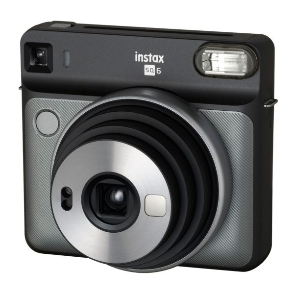Fujifilm Instax SQ6 Square Instant Camera in Graphite Grey