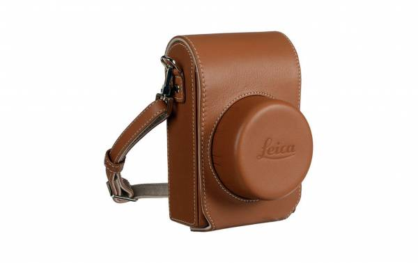 Leica D-Lux 7 Case in Brown Hero Image