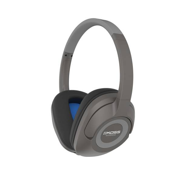 Koss BT539i Wireless Over-Ear Headphones in Dark Grey