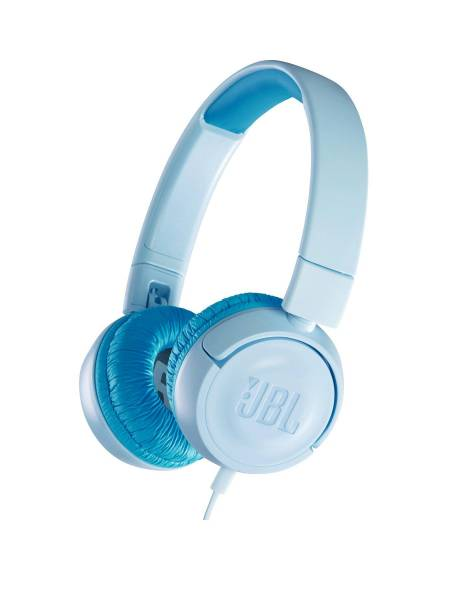 JBL JR300 Headphones Blue Hero Image