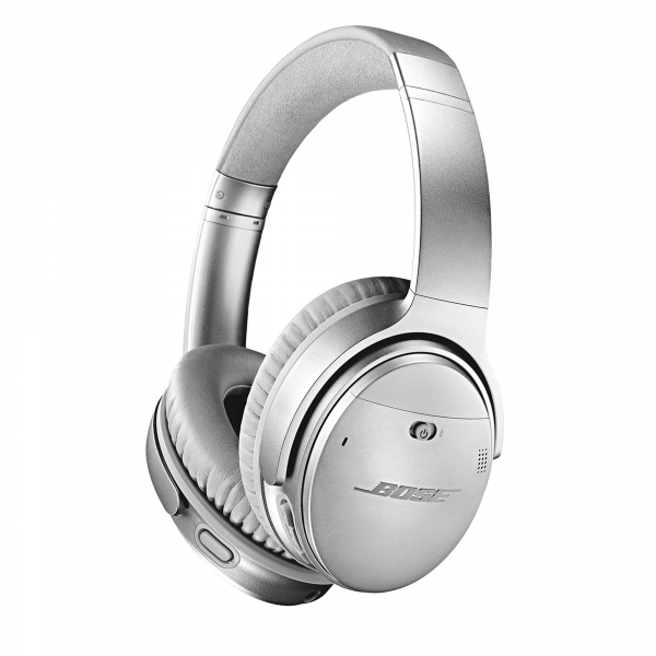 Bose QuietComfort® 35 II Wireless Over-Ear Headphones in Silver
