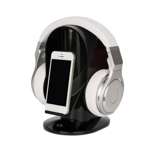 Heads-Up Base Stand For Headphones in Black