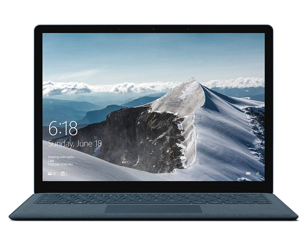 Microsoft Surface Laptop cobalt blue front view
