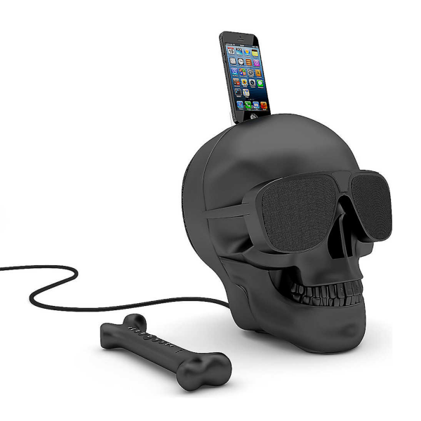Jarre Aeroskull HD+ Bluetooth Speaker in Matte Black