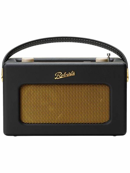 Revival iStream 3 Internet Smart Radio in Black front view