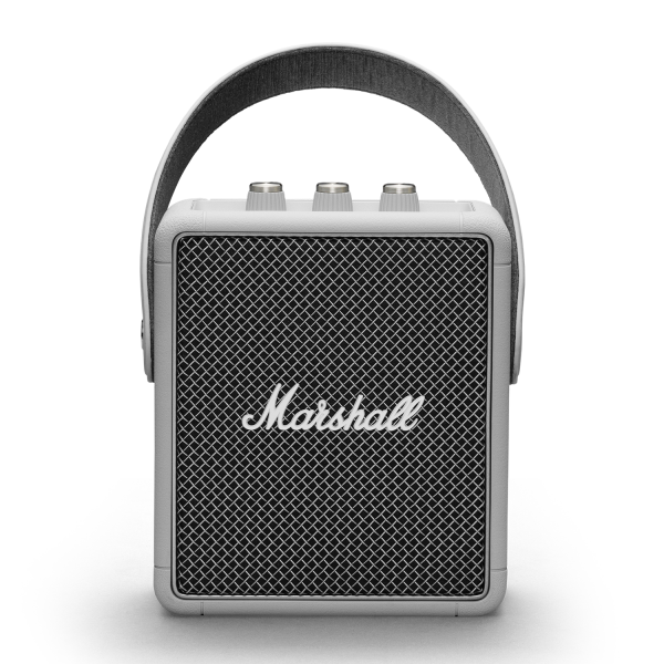 Marshall Stockwell II Portable Bluetooth Speaker in Grey