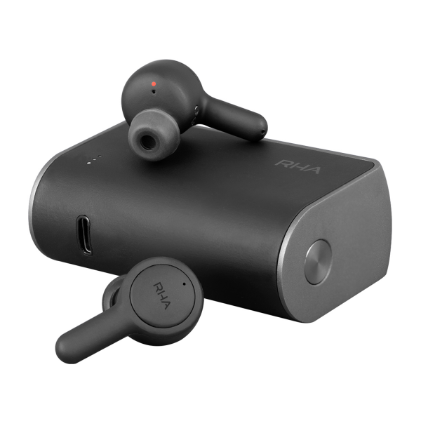 RHA TrueConnect 2 True Wireless Earphones in Carbon Black