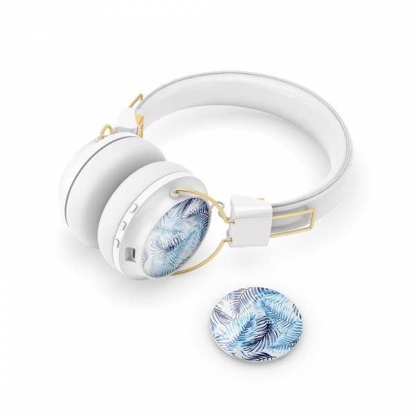 Sudio Regent Headphone Caps in Selva Azurro in Blue