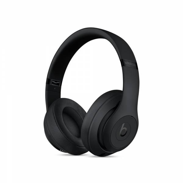 Beats Studio3 Noise-Cancelling Wireless Headphones in Matte Black