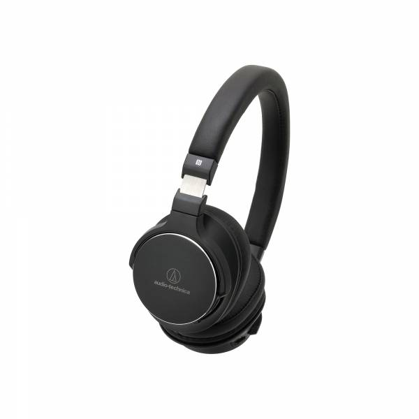Audio-Technica ATH-SR5BT High Resolution Bluetooth NFC On-Ear Headphones in Black