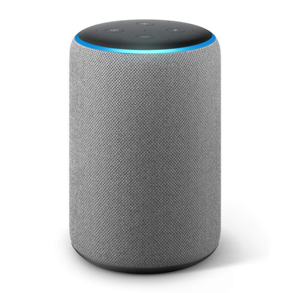 Amazon Echo Dot 2nd Gen Smart Speaker in Heather Grey Fabric