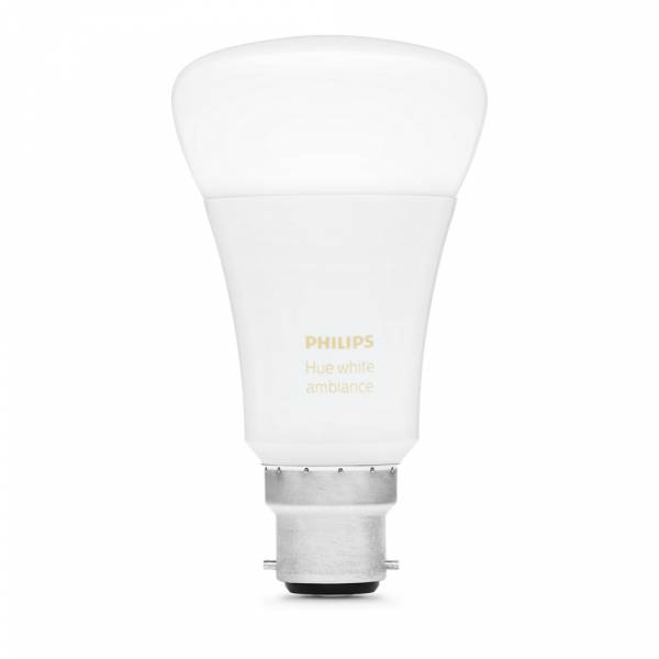 Philips Hue White Ambiance Smart LED B22 Bulb OFF View