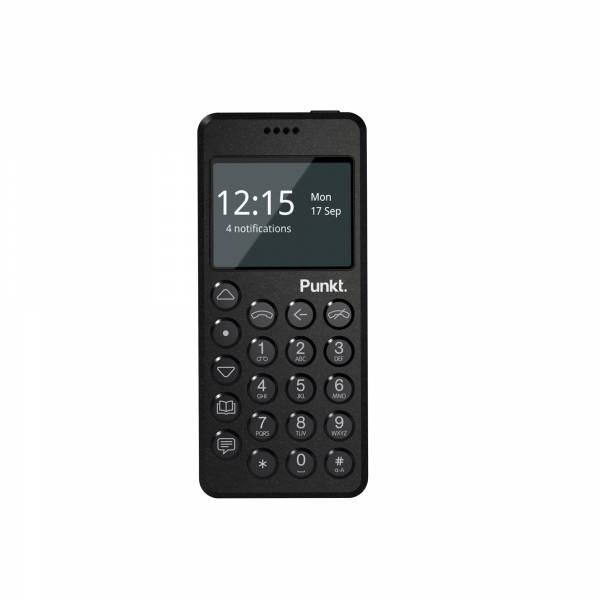 Punkt MP02 Mobile Phone front view