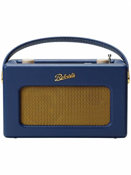 Revival iStream Smart Radio in Midnight Blue front view