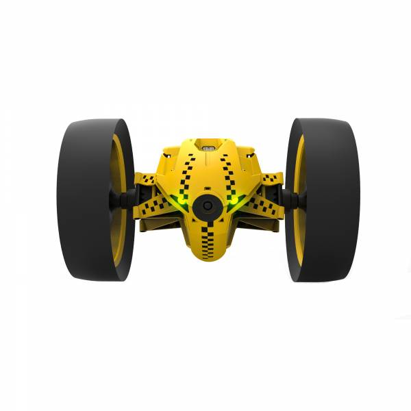 Parrot Jumping Race TukTuk Minidrone in Yellow (PF724300) FRONT VIEW