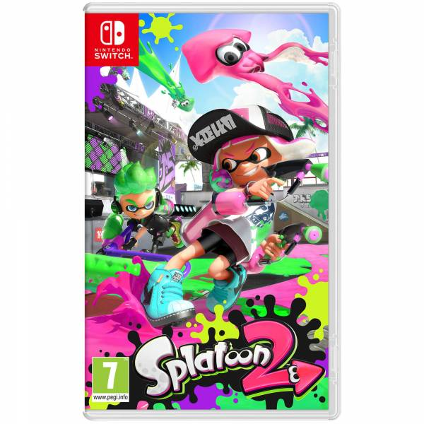Splatoon 2 Case