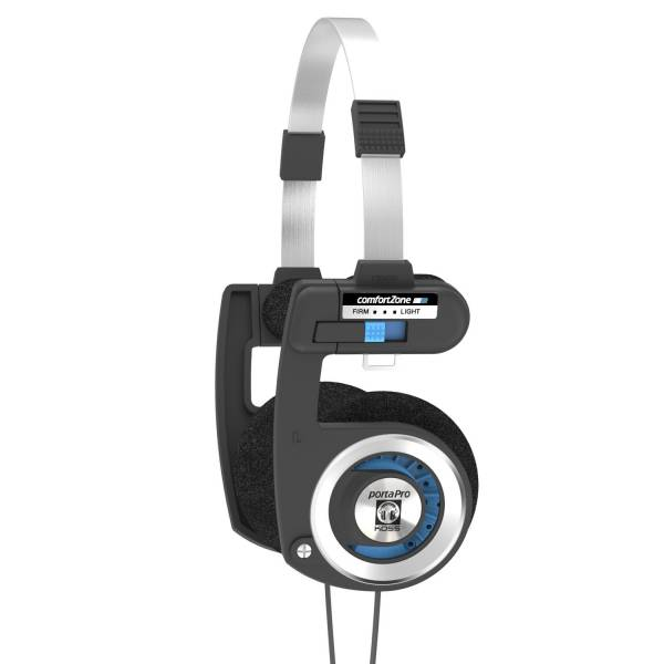 Koss Porta Pro On-Ear Headphones in Black and Silver