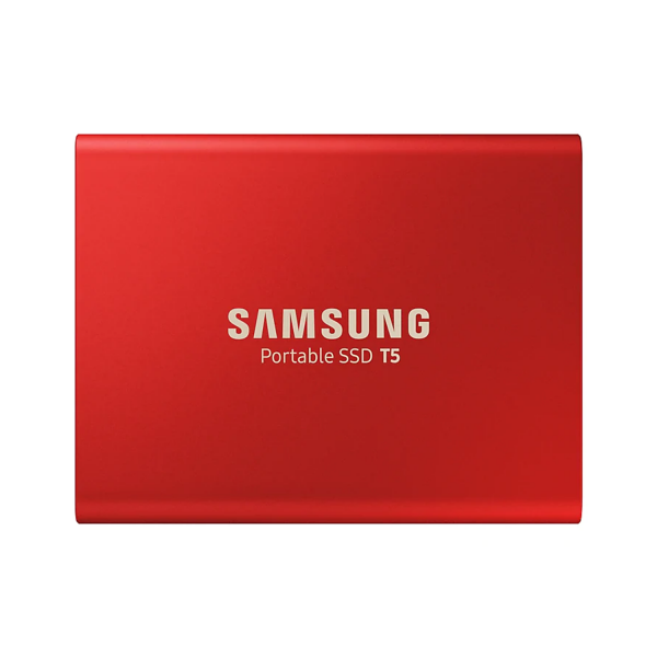 Samsung T5 1TB External SSD in Red