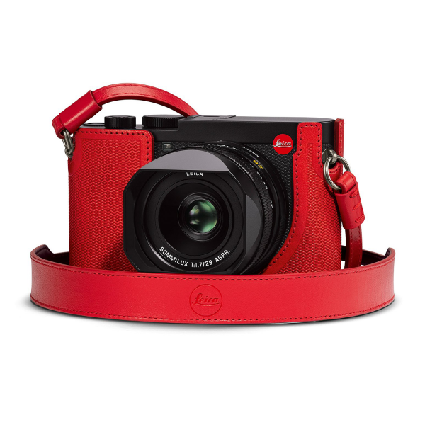 Leica Q2 Protector in Red Leather